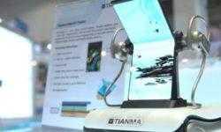 Китайская Tianma показала изгибаемую внутрь 7,4″ панель на Computex 2019