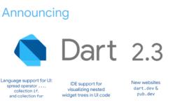 [Перевод] Анонсирован Dart 2.3: оптимизирован для разработки пользовательских интерфейсов