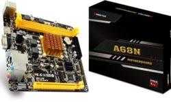 Плата для компактного ПК Biostar A68N-2100E оборудована чипом AMD E1-2150
