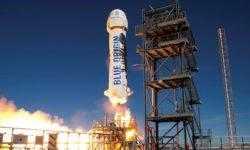 [Прямо сейчас] Blue Origin запустит и посадит ракету New Shepard