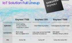 Samsung Exynos i T100 с Bluetooth и Zigbee: для дома, для семьи