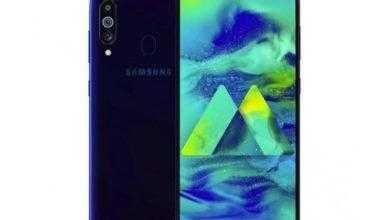 Фото Смартфон Samsung Galaxy M40 показал лицо