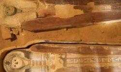 У пирамид Гизы найдено древнее кладбище с двумя саркофагами