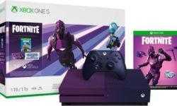 В Сеть «утекли» изображения фиолетовой Xbox One S в стиле Fortnite