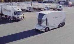 В Швеции стартовала регулярная доставка грузов электрическими самоуправляемыми грузовиками
