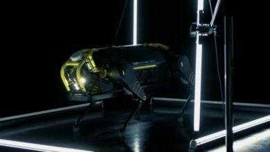 Фото Видео: четырёхногий робот HyQReal тянет за собой самолёт