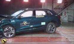 Видео: краш-тесты электрокара Audi e-tron, получившего пять звёзд от Euro NCAP
