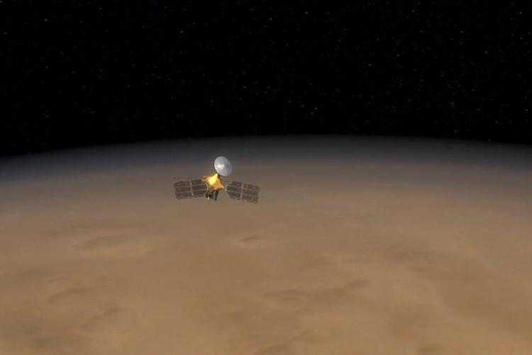 Фото Зонд NASA MRO облетел Марс 60 тысяч раз