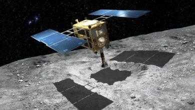 Фото Зонд «Хаябуса-2» не смог сбросить маркер на кратер астероида Рюгу