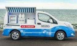 Электрификация во всём: в Nissan создан «зелёный» фургон для мороженого