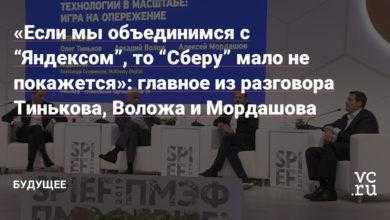 """Фото «Если мы объединимся с """"Яндексом"""", то """"Сберу"""" мало не покажется»: главное из разговора Тинькова, Воложа и Мордашова"""