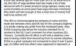 EVGA сократит 30 % персонала в США: новые пошлины — новые проблемы