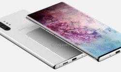 Фаблет Samsung Galaxy Note 10 Pro позирует на рендерах