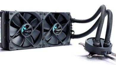 Фото Fractal Design Celsius Blackout: системы жидкостного охлаждения для чипов AMD и Intel