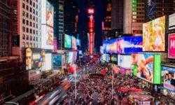 Новейший LED-экран Samsung появился в центре Нью-Йорка