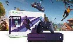 Официально: Microsoft выпустит Xbox One S с Fortnite в необычной фиолетовой раскраске уже на днях
