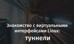 [Перевод] Знакомство с виртуальными интерфейсами Linux: туннели