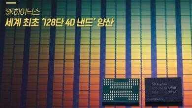 Фото Рывок SK Hynix: начато массовое производство первой в мире 128-слойной 1-Тбит 3D NAND