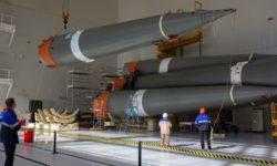 Собран «пакет» ракеты-носителя «Союз-2.1б» для пятого пуска в истории Восточного