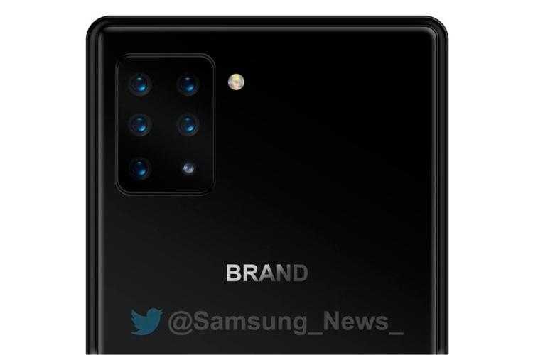Данное изображение не отражает реальный дизайн будущего смартфона Sony Xperia с шестерной камерой