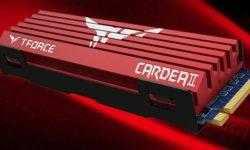 SSD-накопители T-Force Cardea II для игровых систем имеют объём до 1 Тбайт