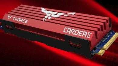 Фото SSD-накопители T-Force Cardea II для игровых систем имеют объём до 1 Тбайт