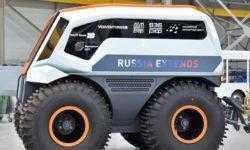 В России создан гибридный вездеход Volgabus с искусственным интеллектом