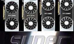 Версии GeForce RTX Super в исполнении партнёров NVIDIA будут представлены на неделю позже эталонных