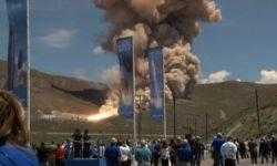 #видео | Сопло новой ракеты Omega для ВВС США взорвалось при испытаниях