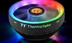 Высота радиального кулера Thermaltake UX100 ARGB Lighting составляет 66 мм