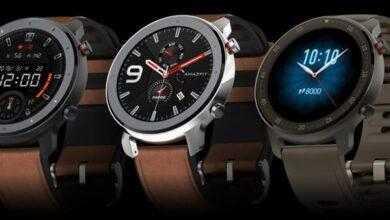 Фото Amazfit GTR: смарт-часы с экраном AMOLED, поддержкой NFC и герметичным корпусом
