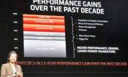 AMD назвала литографию одним из главных факторов прироста быстродействия современных процессоров