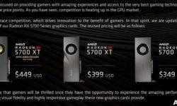 AMD официально подтвердила снижение цен на видеокарты серии Radeon RX 5700