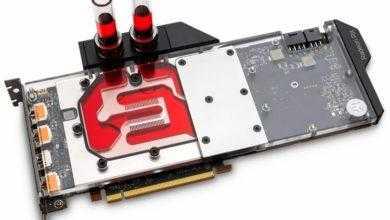 Фото EK Water Blocks представила водоблоки для видеокарт Radeon RX 5700-й серии