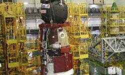 Фото дня: корабль «Союз МС-14» для доставки робота «Фёдора» на МКС готовится к запуску