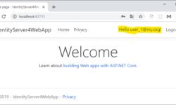 Использование Identity Server 4 в Net Core 3.0