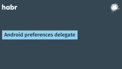 Фото [Из песочницы] Android preferences delegate