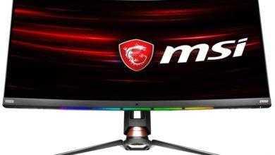 Фото MSI Optix MPG341CQR: изогнутый игровой монитор с частотой обновления 144 Гц