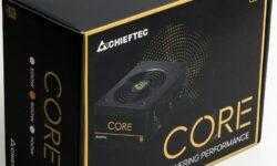 Новая статья: Блок питания Chieftec BBS-600S: «золото» для каждого