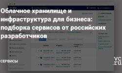 Облачное хранилище и инфраструктура для бизнеса: подборка сервисов от российских разработчиков