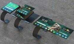 OPPO предложила дизайн смарт-часов со складным дисплеем