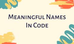 [Перевод] Как придумывать содержательные имена для вашего кода