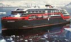 Первый круизный лайнер с питанием от батарей отправляется в Арктику