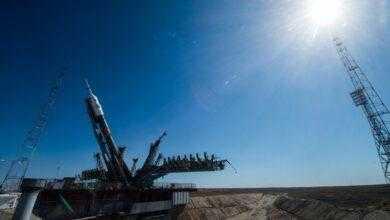 Фото Пилотируемый корабль «Союз МС-13» отправился к МКС