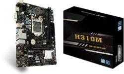Плата Biostar H310MHP позволяет создать компактный ПК на платформе Intel