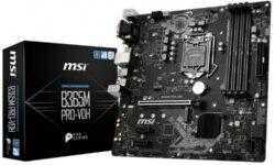 Плата MSI B365M PRO-VDH для чипов Intel имеет формат Micro-ATX