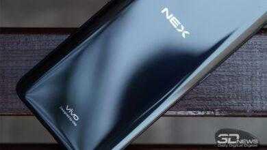 Фото Рендер смартфона Vivo NEX 2 демонстрирует экран нового поколения