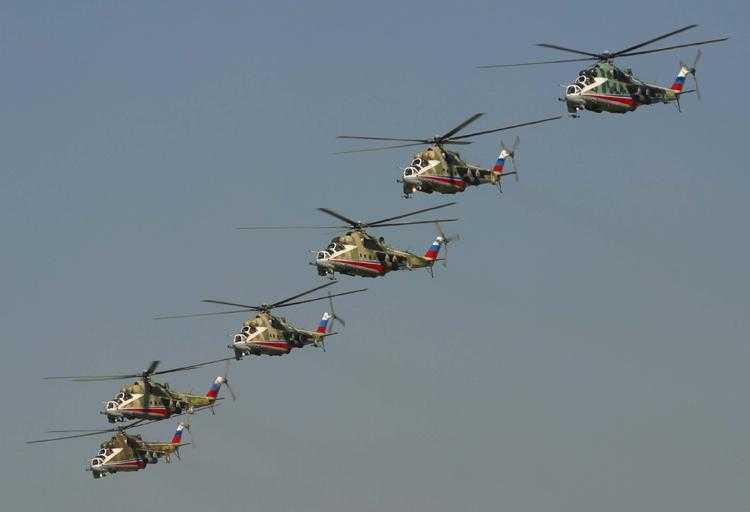Фотографии холдинга «Вертолёты России»
