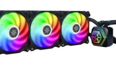 Фото SilverStone PF-ARGB: трио систем жидкостного охлаждения процессоров
