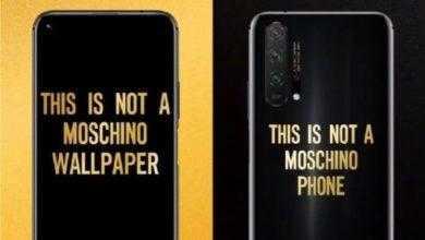 Фото Смартфон Honor 20 Pro Moschino Edition поступит в продажу 2 июля